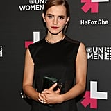Emma later attended the HeForShe afterparty.