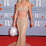 Ashley Roberts on the 2020 BRIT Awards Red Carpet