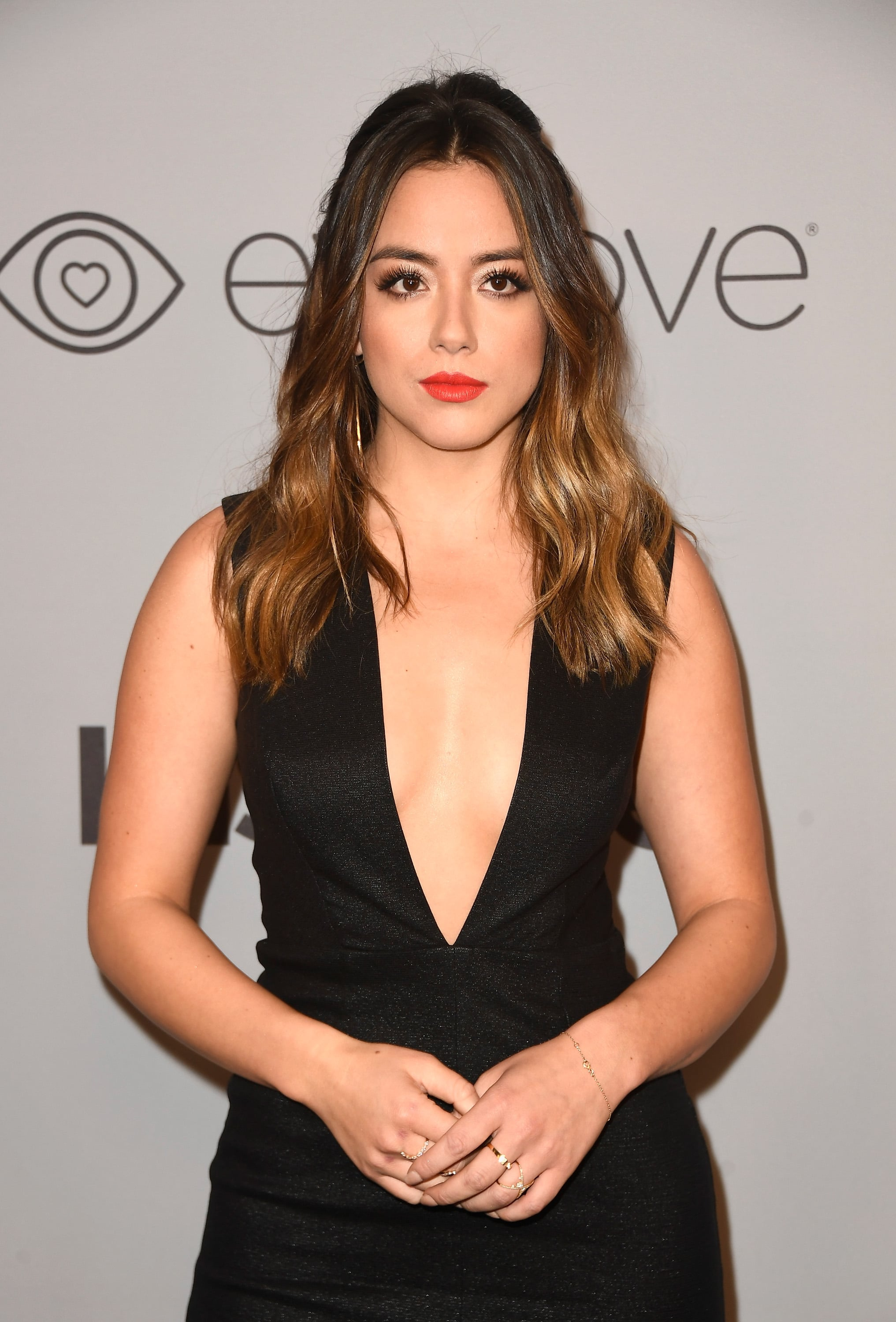 BEVERLY HILLS, CA - JANUARY 07:  Actor Chloe Bennet attends 19th Annual Post-Golden Globes Party hosted by Warner Bros. Pictures and InStyle at The Beverly Hilton Hotel on January 7, 2018 in Beverly Hills, California.  (Photo by Frazer Harrison/Getty Images)
