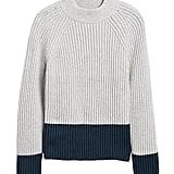 Chunky Colour-Block Sweater