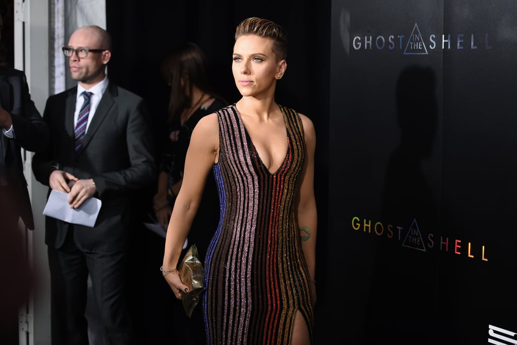 Scarlett Johansson at Ghost in the Shell Premiere in NYC