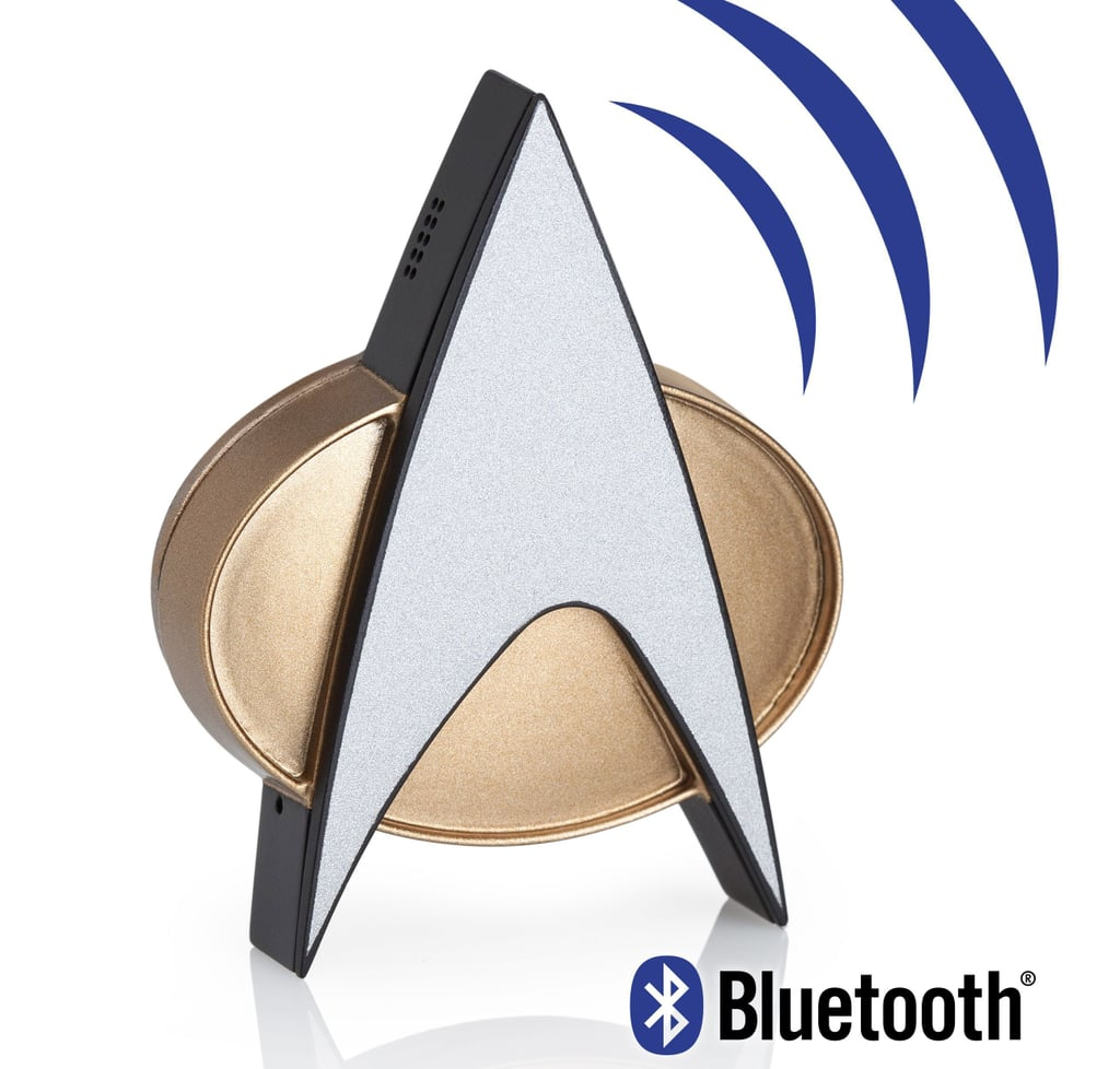 Star Trek TNG Bluetooth ComBadge