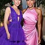 Lucy Liu and Regina King