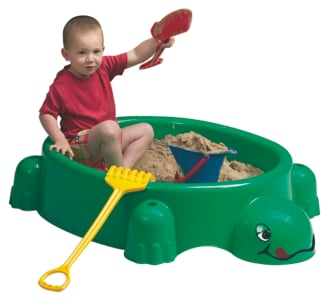 Green Turtle Paddling Pool and Sandpit