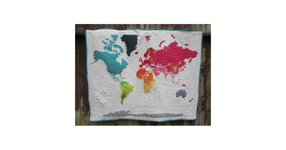 World Map Quilt | Middle East Map | POPSUGAR Middle East Love Photo 9