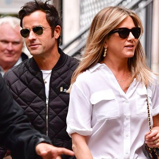 Jennifer Aniston With Justin Theroux in NYC September 2016