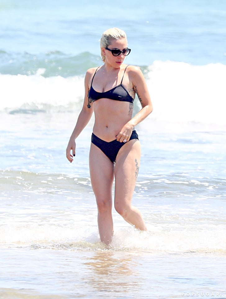 Gaga Bikini Hamptons Lady 2018Popsugar Fashion Black dQrCtshx