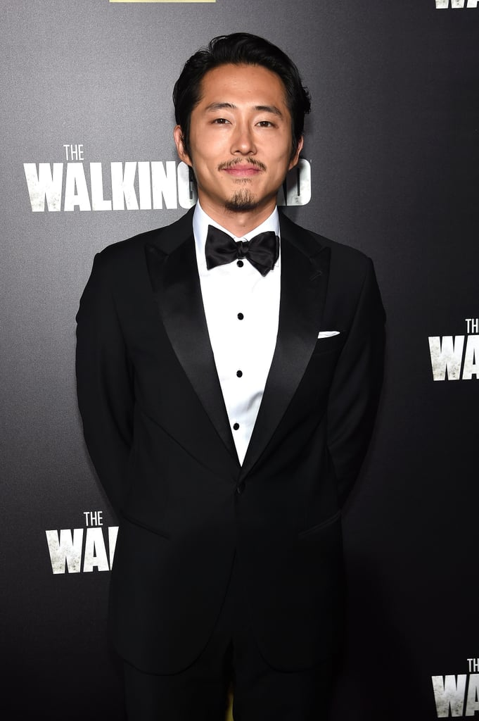 Steven Yeun Hottest Photos Popsugar Celebrity