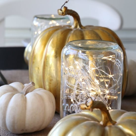 Mason Jar Thanksgiving Decorating Ideas
