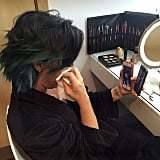 Demi Lovato got emotional while FaceTiming with her family.
