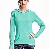 Old Navy Go-Dry Cool Hooded Pullover ($14 to $20, depending on color)