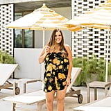 Gibson x Hot Summer Nights Two Peas Layered Camisole Romper