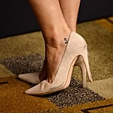 Janel Parrish's Ankle Tattoo