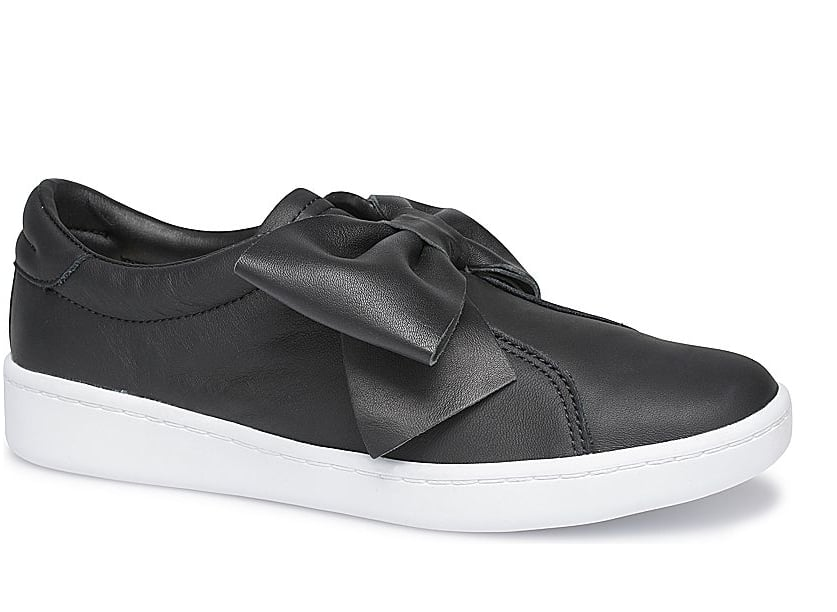 Ace Bow Leather Sneakers