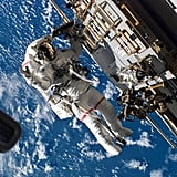 Endeavour's Space Walk