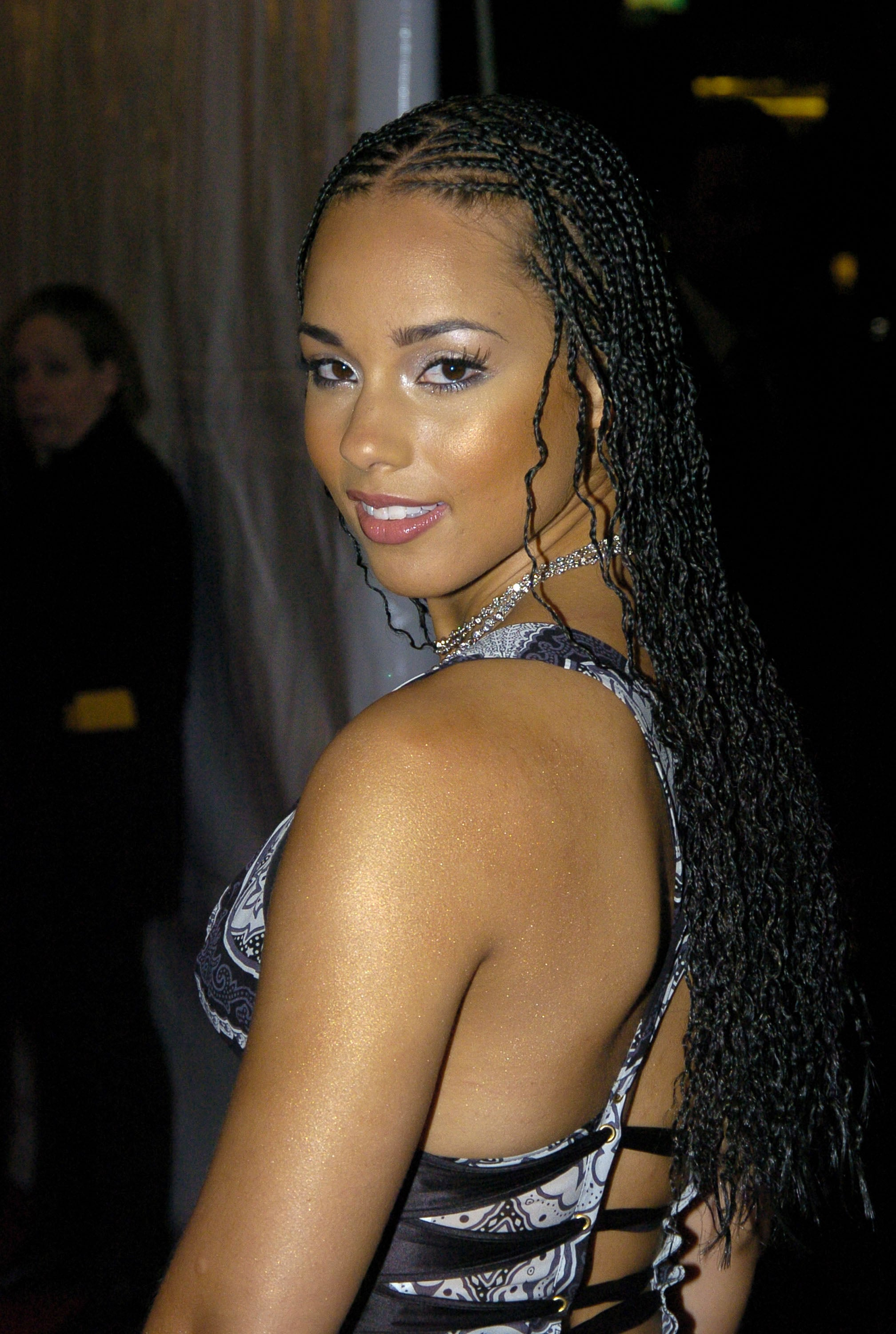 Alicia Keys during The 19th Annual Rock and Roll Hall of Fame Induction Ceremony - Red Carpet at Waldorf Astoria in New York City, New York, United States. (Photo by Jeff Kravitz/FilmMagic, Inc)