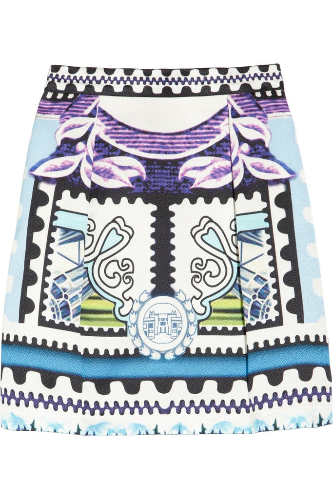 Invest in a bold but classic Mary Katrantzou printed skirt ($545, originally $1,090) now and wear it always.