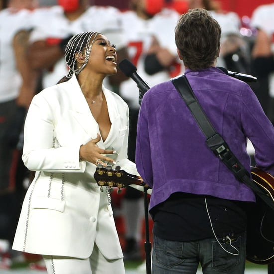 Jazmine Sullivan's Super Bowl Outfit Honors Whitney Houston