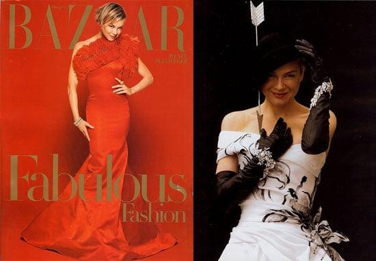 Renee Zellweger In Harper's Bazaar