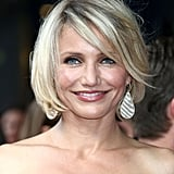 Cameron Diaz looked stunning at the premiere on London.