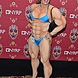 Marc Jacobs as a Female Bodybuilder