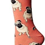 Socksmith Pugs Peach Socks