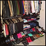 Home sweet home, or closet sweet closet in Brad Goreski's case. Source: Instagram user mrbradgoreski