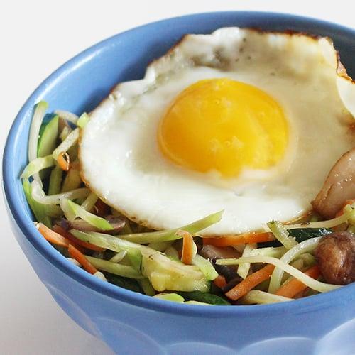 Trader Joe's Broccoli Slaw Breakfast