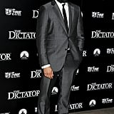 Jason Mantzoukas arrived at the premiere of The Dictator.