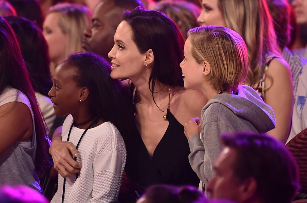 The Sweetest Moments the Jolie-Pitt Kids Have Shared With Their Parents