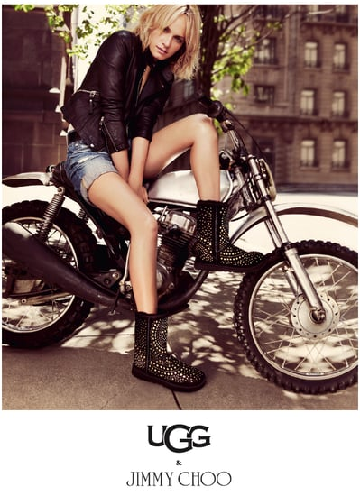 Amber Valletta in Jimmy Choo For Ugg Fall 2010 Ad 2010-09-13 06:00:06