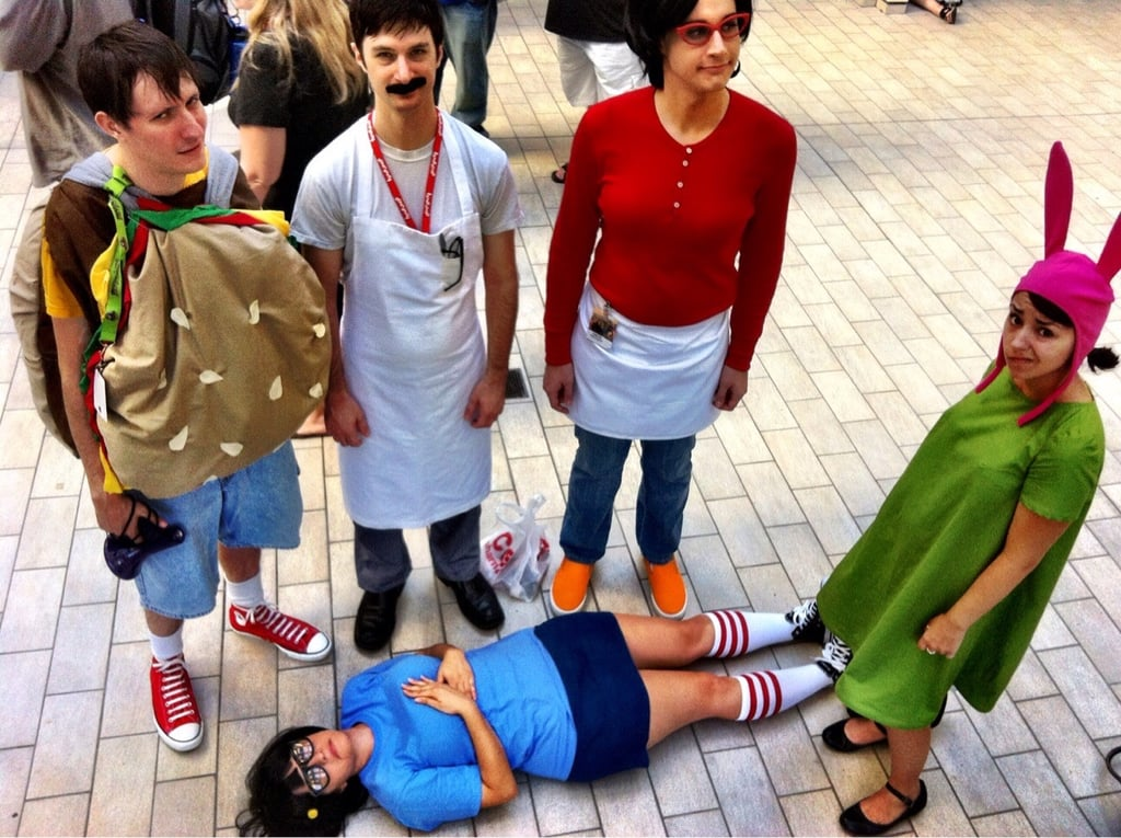the bobs burgers family