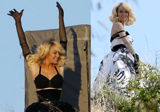 Lindsay as Marilyn