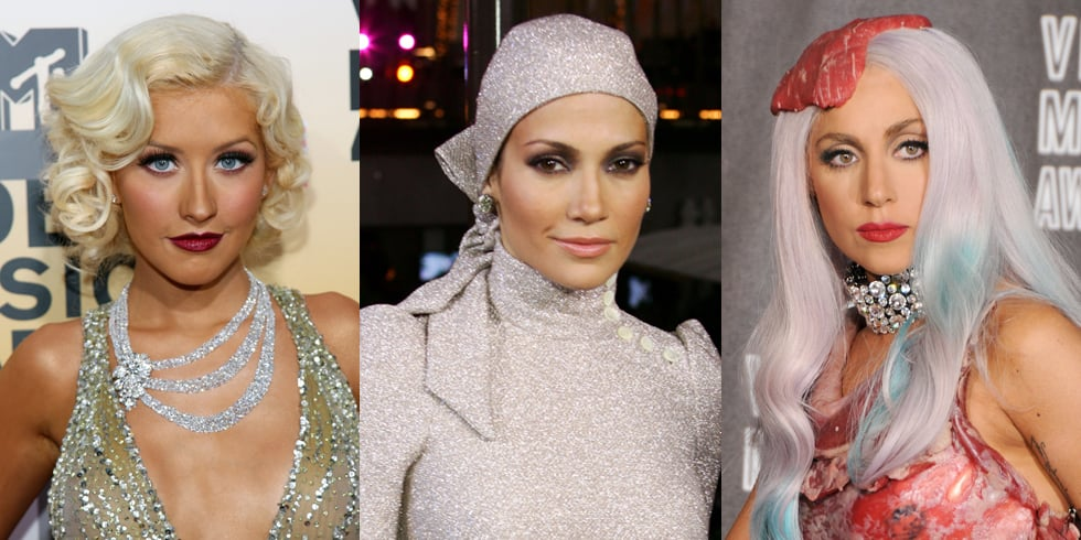 Beauty Looks From Past MTV Video Music Awards