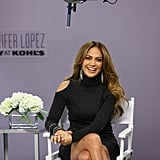 Jennifer Lopez promotes her line with Kohl's in CT.