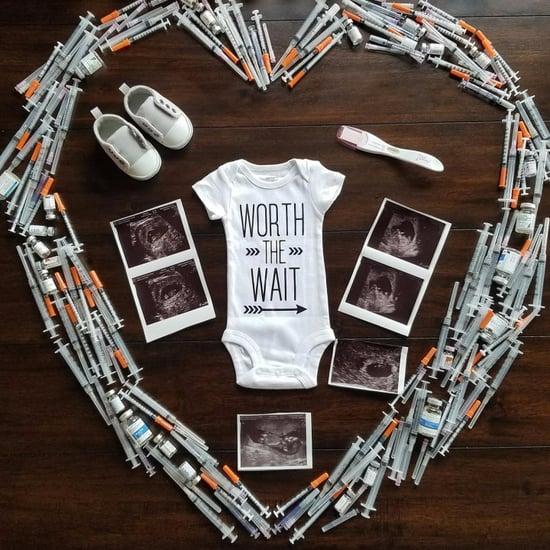 IVF Pregnancy Announcement
