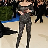 Bella Hadid Selena Gomez and The Weeknd at 2017 Met Gala