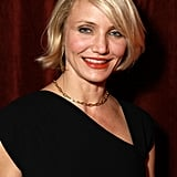 Cameron Diaz looked happy to attend a dinner honoring Jeffrey Katzenberg at CinemaCon in Las Vegas.