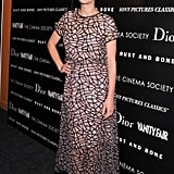 Marion Cotillard in Sheer Dior Dress