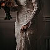 The Gown Was Designed by Rue De Seine
