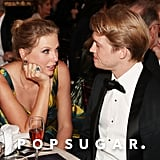 Taylor Swift and Joe Alwyn at the Golden Globes 2020