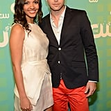 Jessica Lucas and Matt Davis cozied up for a photo.