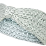 Christmas day walks will be toasty warm with this Dorothy Perkins mint shimmer knitted headband (£5).