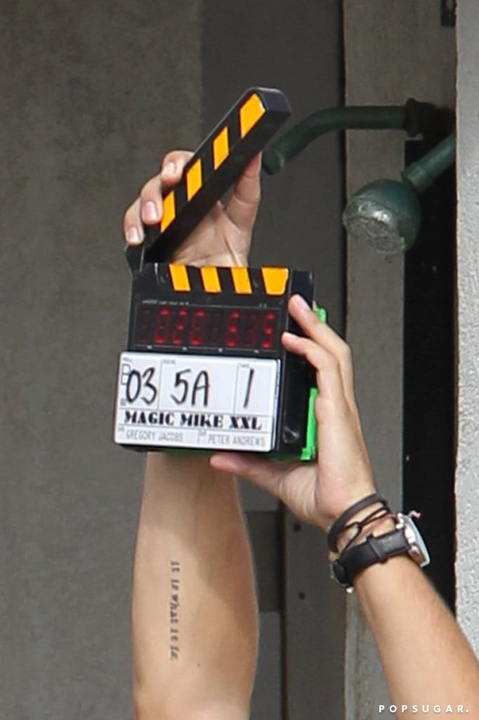 Action! The Magic Mike XXL production was under way in Savannah, GA.