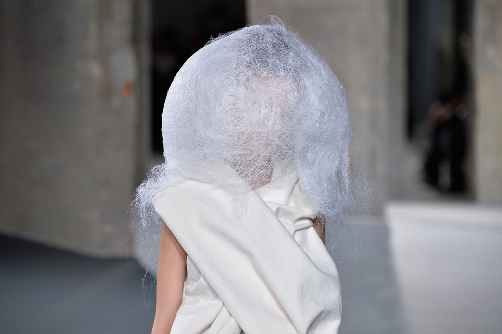 Rick Owens Hair Paris Fashion Week Fall 2016