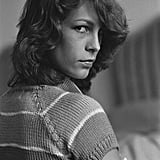 A young Jamie Lee Curtis was in attendance at the film festival in 1980.
