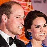Kate Middleton in Jenny Packham Dress at Mumbai Gala