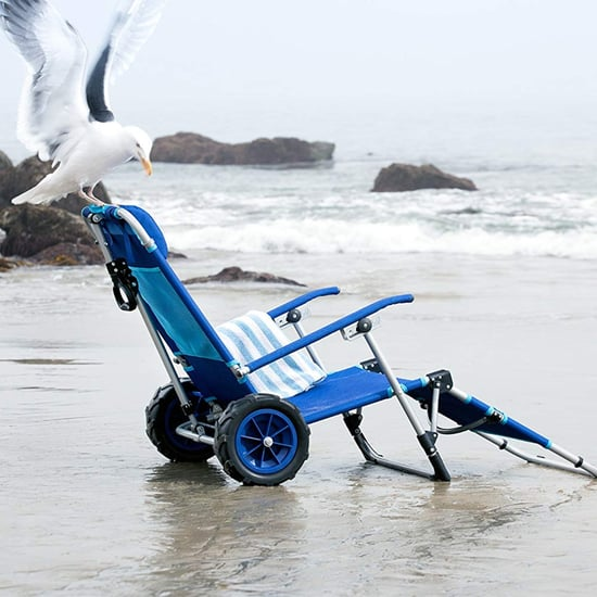 Beach Chair That Doubles as a Wagon