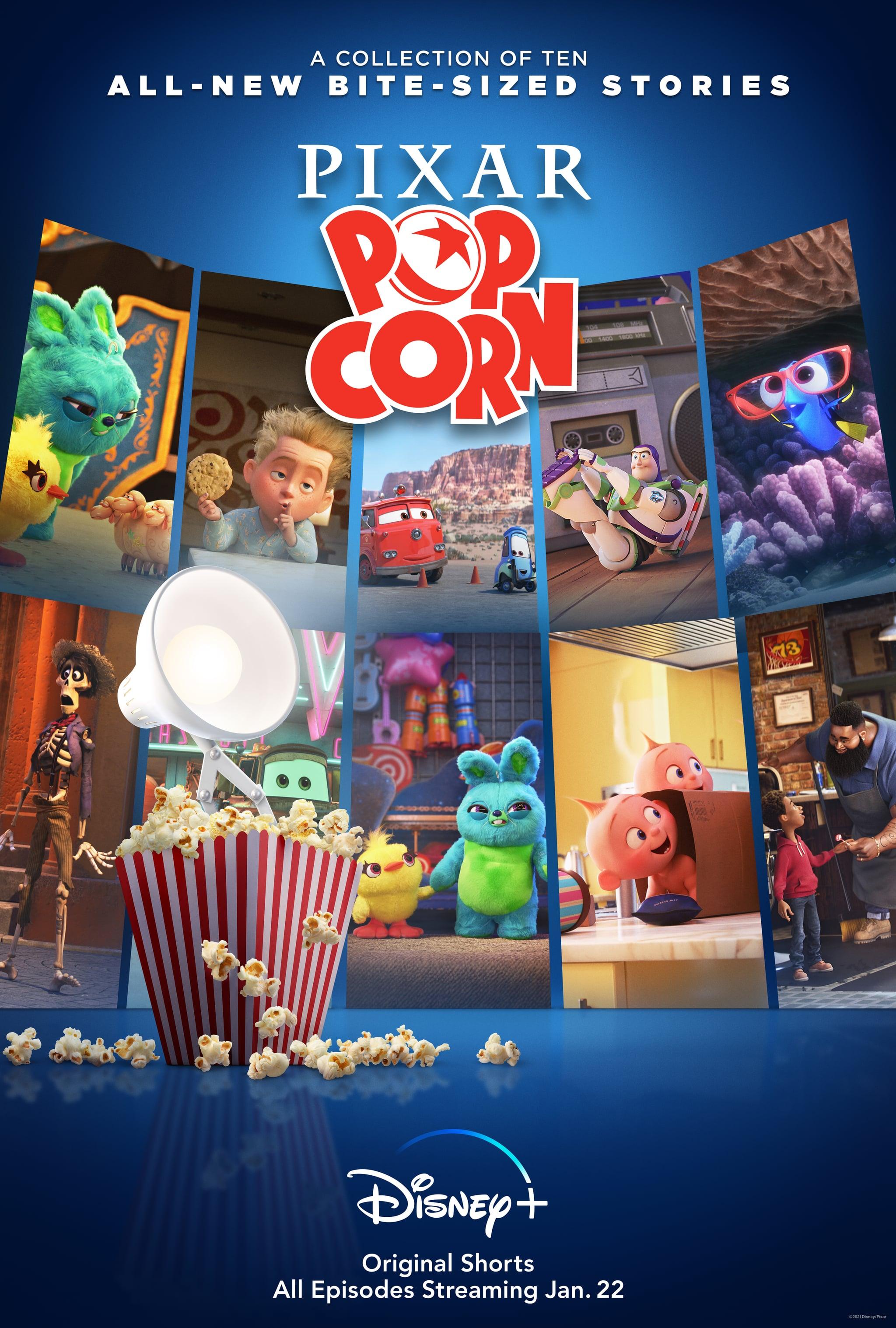 Disney Plus's Pixar Popcorn Series