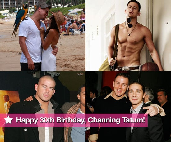 Pictures of Channing Tatum Shirtless 30th Birthday